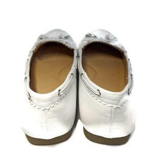 comfortview Shoes - White Moccasins Women's Size 12